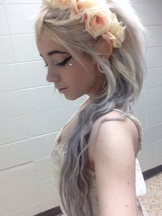 pale // lilac // flower crown ♥