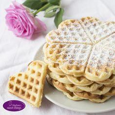 Vanillewaffeln - Marlenes sweet things