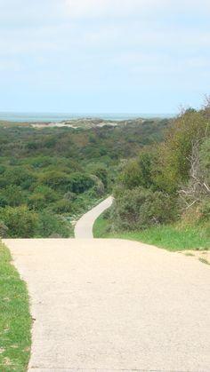 The road is long... Prachtige wandeling door de duinen naar het strand van Burgh Haamstede 2011