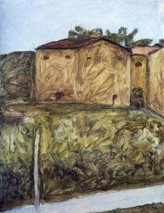 Giorgio Morandi, Landscape, 1961