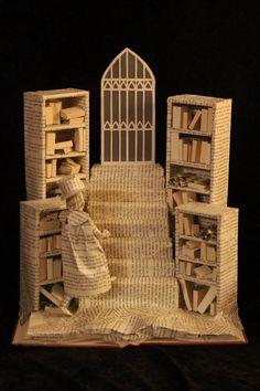 Club Dumas Book Sculpture by wetcanvas