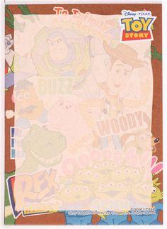 Disney Toy Story characters mini Memo Pad from Japan - Memo Pads - Stationery - kawaii shop modeS4u