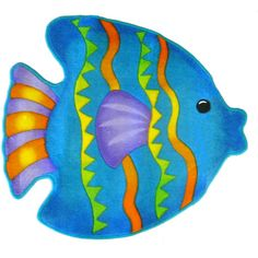 Ceramic Fish, Ceramic Art, Beach Quilt, Cartoon Fish, Mandala Canvas, Fish Plate, Cute Fish, Fish Patterns, Fish Art