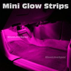 Ebay Pink LED Strip Lights Interior Glow Lighting Neon Flexible 5050 SMD fg $11.99