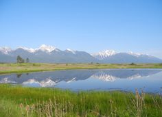 Mission Mountain Range - Montana