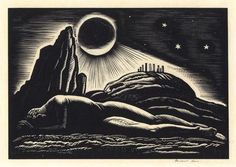 Rockwell Kent | Wood engraving