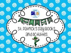 St. Patrick's Day Books and Activities Pinterest Board