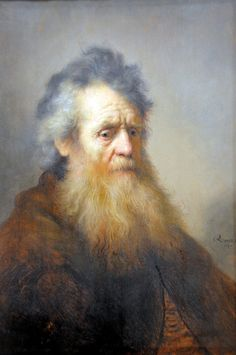 Rembrandt van Rijn ~ Portrait of an Old Man, 1632