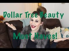 Dollar Tree Beauty Must Haves | Dollar Store Faves - YouTube