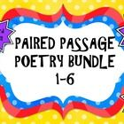 Do you need paired passage readings that offer rigorous questioning? Here it is! This is a bundle of six paired passages that focus on poetry and p...