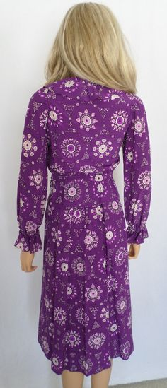 Vintage 1970's EMILIO PUCCI Optic Flower Silk by ElectricLadyland1