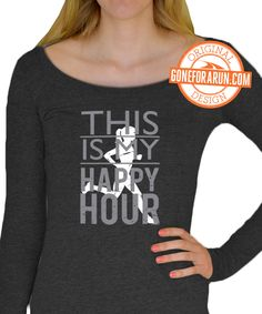 Our super comfy Long Sleeve Tees are great to wear during a run or lounging around the house!