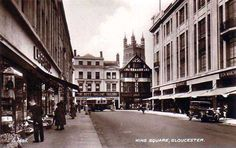 This is not Kings Square as it says on the pic, it is The Oxbode looking to Northgate St