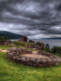 Urquhart Castle & Loch Ness by PhilnCaz