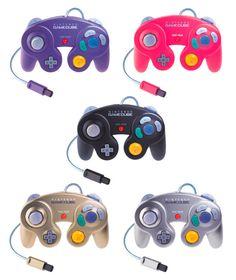 GameCube controller colours