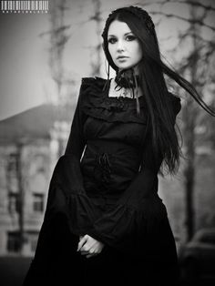 black dress, classy :)