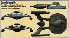 Film Sketchr: How to Design A 'Star Trek: First Contact' Starship By Alex Jaeger