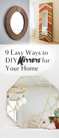 Thrifty thursday easy diy bathroom upgrades and decor bathroom diy mirrors diy mirror projects diy mirror framing mirror frame projects easy solutioingenieria Images