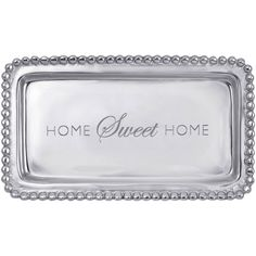 Mariposa Home Sweet Home Statement Tray