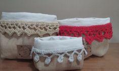 organizadores-paneras :: Hecho-en-casa-crochet Embroidery Stitches, Lace Shorts, Ottoman, Organization, Knitting, Crafts, Home Decor, Women, Ideas