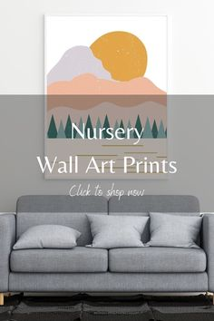 Add wall art prints from LB Ink Design to your nursery! Wall art printables are the perfect easy DIY and affordable art decor option. We have a wide selection of boho, abstract, minimalist and modern wall art prints, so you're bound to find something that fits you and your baby's aesthetic. These wall art prints are perfect for above the crib, and they can be as neutral or as colorful as you would like. Click this pin to shop our Etsy store today. #affordableart #homedecor #nurserywalldecor