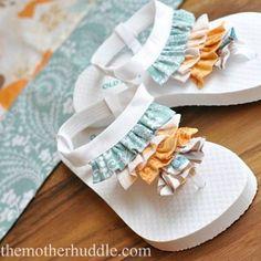 Designer Flip-flops cute for a baby girl