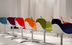 Ahhh... colorful chairs