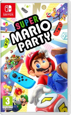 a4782000f19 'Super Mario Party' for Nintendo Switch Releasing Limited Joy-Con Bundle