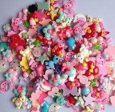 50Pcs  Mixed color Flat Back Resin Buttons children's diy hair accessories  handmade Phone shell decorative - http://thekopf.com/products/50pcs-mixed-color-flat-back-resin-buttons-childrens-diy-hair-accessories-handmade-phone-shell-decorative/