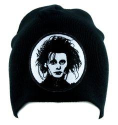 517c5e95957 Edward Scissorhands Beanie Alternative Gothic Clothing Knit Cap