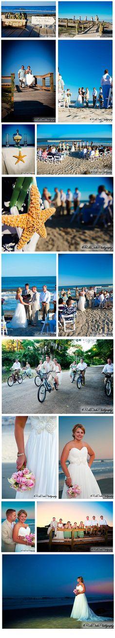 Wedding on Kiawah Island via ©RickDeanPhotography #KiawahIsland #Wedding