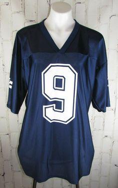 0e1507cd2c0d6 Dallas Cowboys mens XL Jersey  9 Tony Romo NFL Players Blue  NFL   DallasCowboys