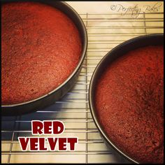 Red Velvet Sponges