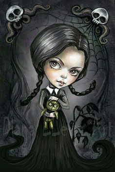 Mercoledi' (Jamie Brawn) La famiglia Addams
