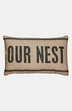 Primitices by Kathy 'Our Nest' Linen Pillow