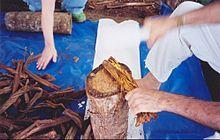 Banisteriopsis caapi preparation