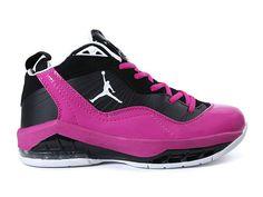 bc5ceeb246a Air Jordan Melo M8 (Carmelo Anthony) GS - Baskets Jordan Pas Cher Pour  Femme Fille Rose Noir 469787-ID1 · Baskets JordanBoutique JordanShoes 2016 Nike ...