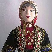 Башкирский национальный костюм замужней женщины, Наркас в кашмау, кашмау головной убор башкир