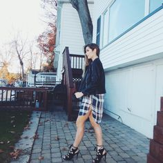 Plaid Dress Three Ways Featuring Vamped Boutique + Makeup Details   Nikole DeBell Beauty    @missguidedcouk @vamped