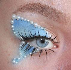 Makeup Eye Looks, Eye Makeup Art, Cute Makeup, Pretty Makeup, Skin Makeup, Makeup Inspo, Makeup Inspiration, Edgy Makeup, Makeup Trends