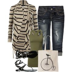 """Bird on a Bicycle"" by christina-young on Polyvore"