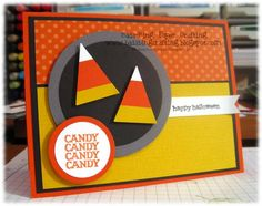 Double dip candy corn by Minders - Cards and Paper Crafts at Splitcoaststampers