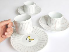 HOTEL BUTTERFLY cup & saucer