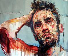 Andrew Salgado I Trust (Self-Portrait I)  http://www.andrewsalgado.com/work/2012
