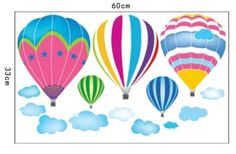 Wall Stickers for Kids Stick Wall Decals Decoration Wall Sticker Decal - Fire Balloon by bigbvg, http://www.amazon.com/dp/B0089DCP1W/ref=cm_sw_r_pi_dp_iig0pb176R48Q