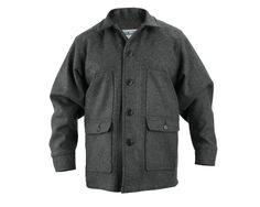 Stormy Kromer Mackinaw Coat in gray. stormykromer.com