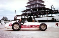Indy 500 winner 1956: Pat Flaherty  Starting Position: 1  Race Time: 3:53:28.840  Chassis/engine: Watson/Offy