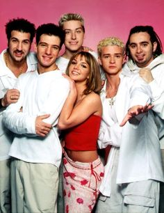 N*SYNC + Brit two of my favorites.