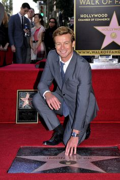 Los Angeles (USA) February 14, 2013 – Longines, the famous Swiss watch company, proudly congratulates Longines Ambassador of Elegance and award-winning actor Simon Baker on receiving the 2,490th star on the Hollywood Walk of Fame, presented by The Hollywood Chamber of Commerce.