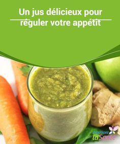 Un #jus délicieux pour réguler votre #appétit   Dans cet article, nous allons partager avec vous la recette d'un délicieux jus de #carotte, de persil, de pomme et de concombre, qui constitue un soutien idéal pour tout #régime amincissant.